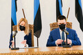 Kaja Kallas ja Jüri Ratas allkirjastasid koalitsioonilepingu
