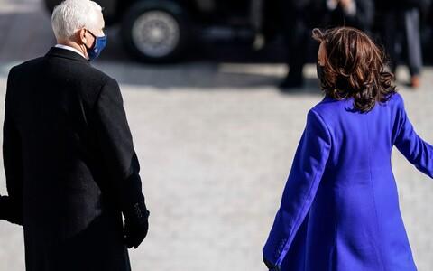 USA endine asepresident Mike Pence ja ametisse vannutatud asepresident Kamala Harris