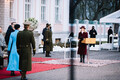President Kersti Kaljulaid appoints Kaja Kallas' government.