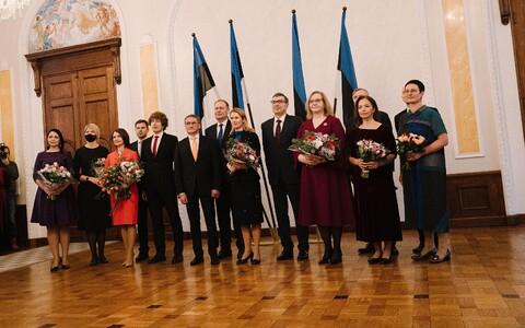Kaja Kallase valitsus astus pärast ametivande andmist ametisse