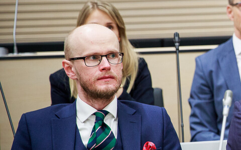 Paul Keres, one of the two lawyers who Harju County Court fined, after they expressed concerns over COVID-19 practices at the courthouse.