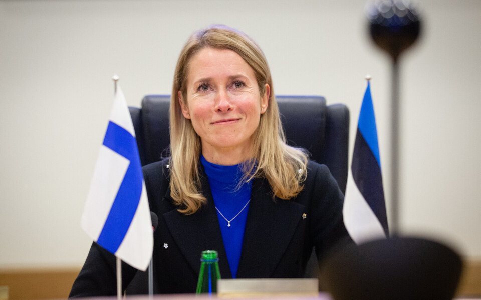 President Kaja Kallas (Reform) spoke to Prime Minister of Finland by video call on January 26.