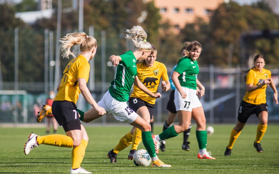 Naiste jalgpalli meistriliigas peetakse varasemast rohkem kohtumisi