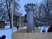 Viljandi Linnahooldus alustas Jaak Joala ausamba katmist.