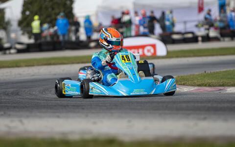 Tänavu CIK-FIA maailmameistrivõistlustel klassis OK edukalt esinenud mitmekordne Eesti meister ning 2020. aastal Eesti parimaks kardisõitjaks valitud Markus Kajak.