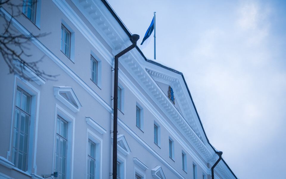 Stenbock House in Tallinn, seat of the Estonian government.