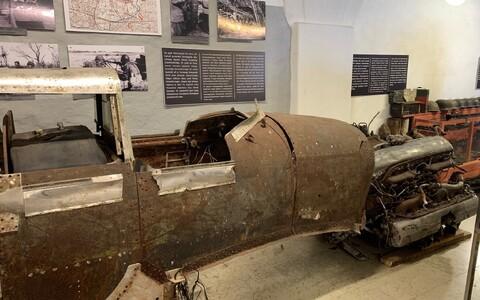 Ил-2 в музее в Синимяэ.