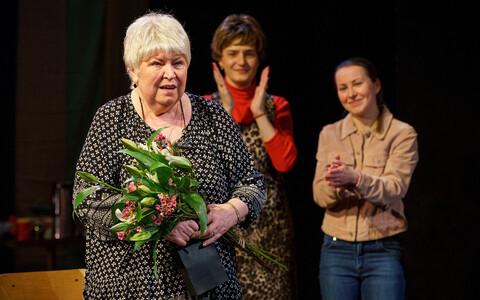 Мария Кленская стала почетным членом Эстонской ассоциации актеров.