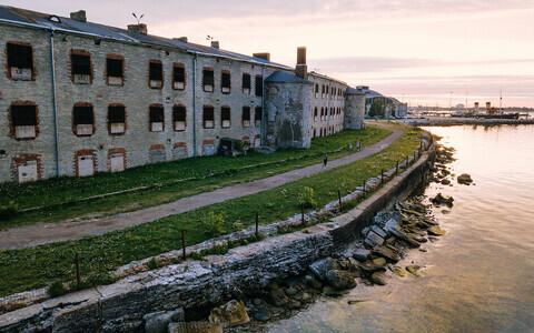 Батарейная морская крепость.