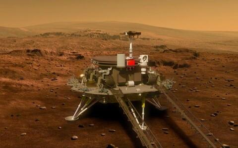 """Tianwen-1, mis tähendab """"Küsimusi Taevale"""", koosneb orbiiterist ja kulgurist."""