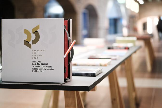 Galerii: selgusid 2020. aasta kauneimad Eesti raamatud