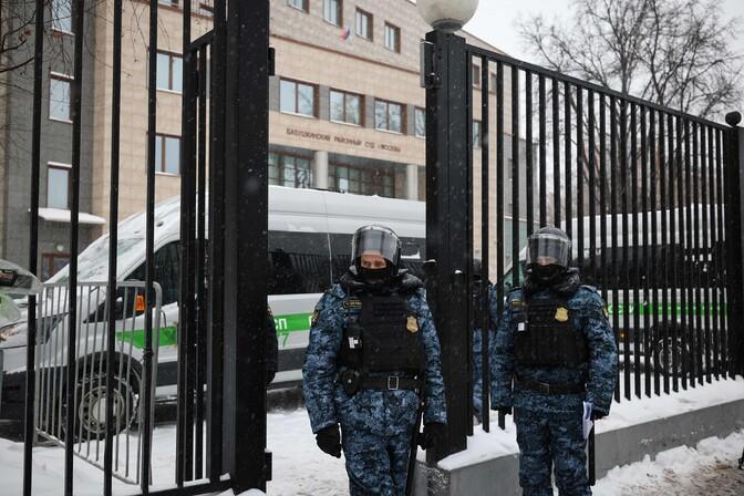 Eesti ja Läti diplomaadid läksid Moskvas Navalnõi kohtuprotsessile