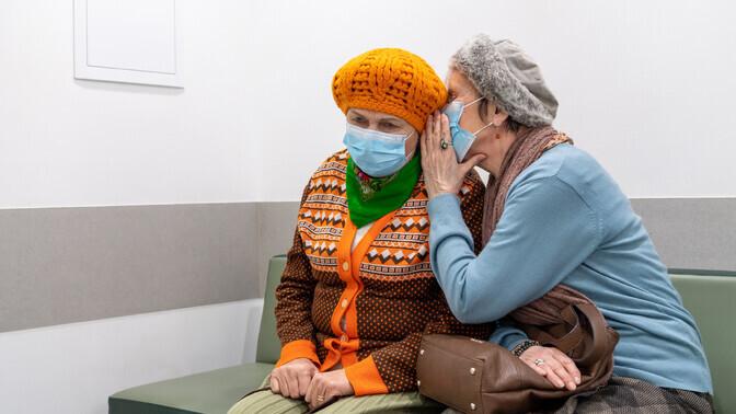 Galerii: Mornas jõuab vaktsineerimise järjekord Alma ja Laineni