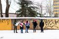 Pikett Valgevene saatkonna ees