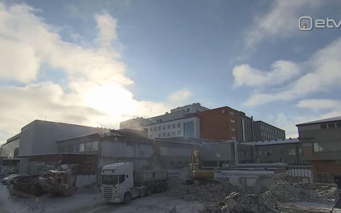 Tartu ülikooli kliinikumis on käimas 70 miljoni eurone ümberehitus