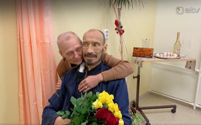Haiguse tõttu oli paar sunnitud pulmaöö haiglapalatis veetma