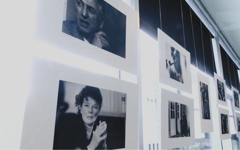 Выставка работ Андре Перльштейна в кинотеатре