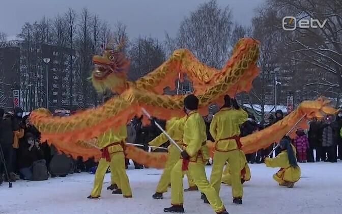 Analüütik Hiina uusaasta üritusest: Peking loodab draakonite abil mõjujõudu suurendada