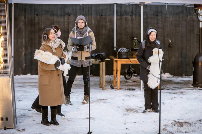 Galerii: Tallinna linnateater jagas kolleegipreemiaid