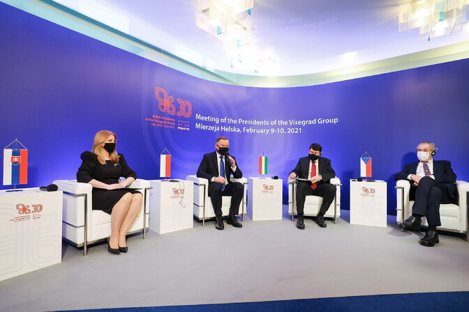 Visegradi neliku riigid tähistasid 30-aastast koostööd