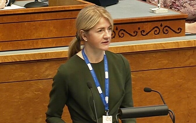 Eva-Maria Liimets: Eestil tuleb vapralt enda eest seista