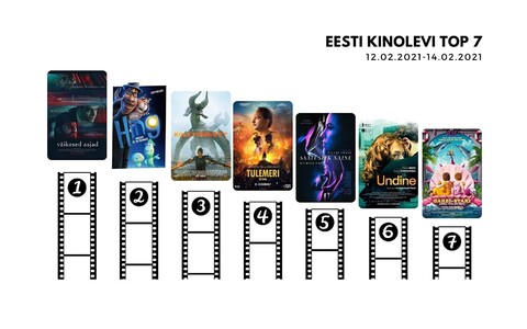 Топ-7 фильмов с 12 по 14 февраля.