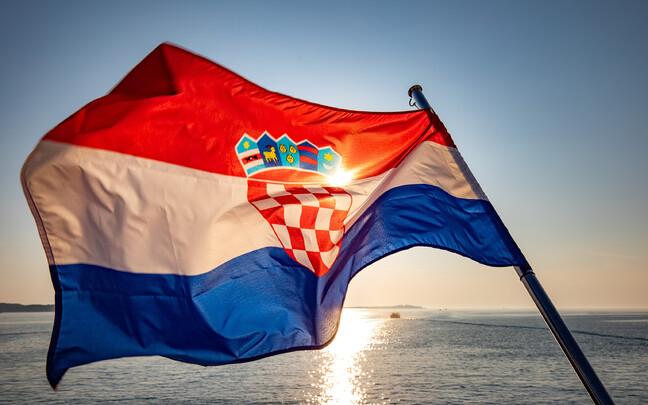Horvaatia lipp
