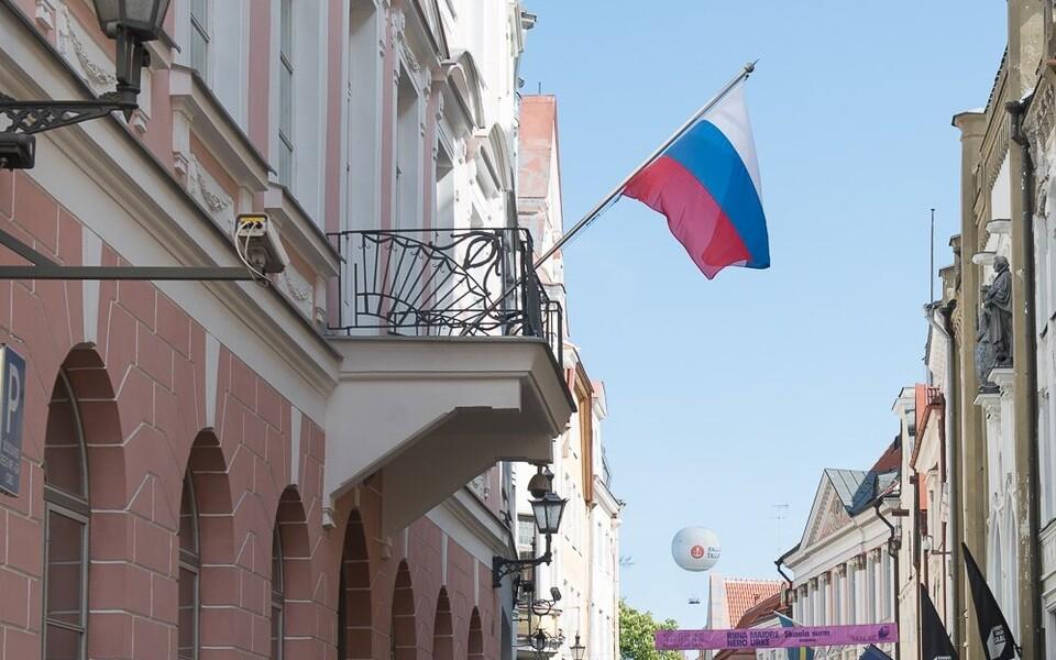 Посольств РФ в Таллинне.