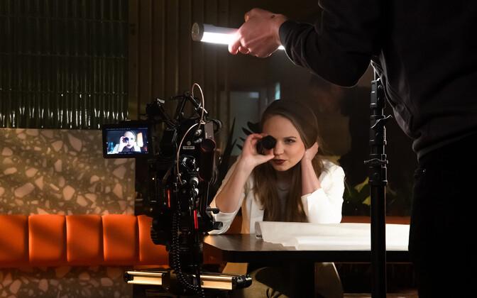 Raadio 2 reklaamklipi filmimine