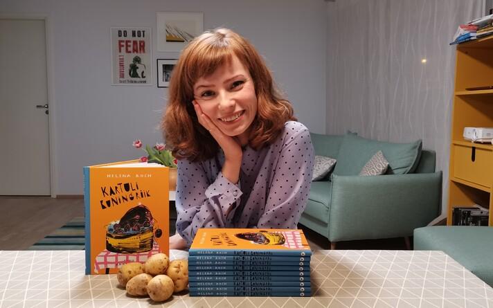Helena Koch uue raamatuga