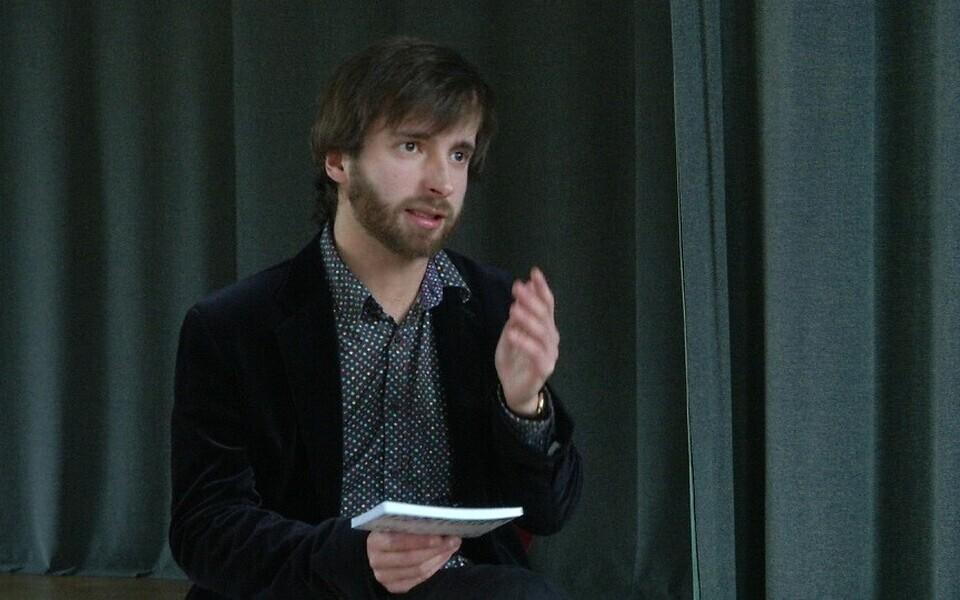 Kirjanduspreemia nominent Kristjan Haljak.