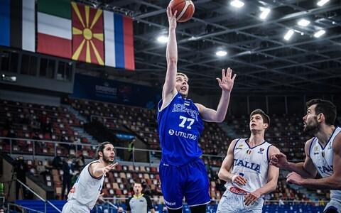 Kristian Kullamäe EM-valimängus Itaalia vastu