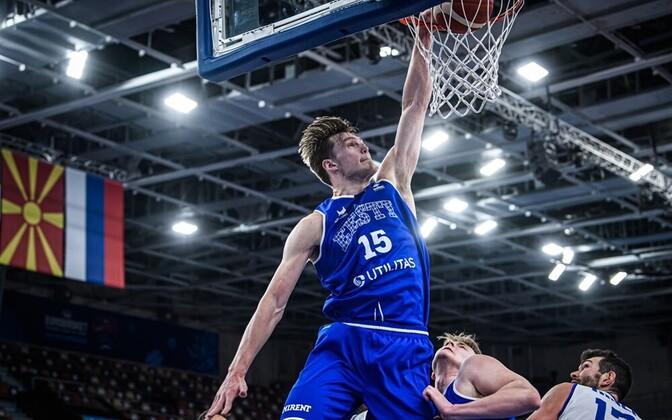 Maik-Kalev Kotsar EM-valimängus Itaalia vastu