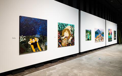 Выставка Лийзы Круузмяги.