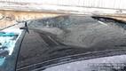 Упавшие с крыши сосульки повредили автомобили в Таллинне.