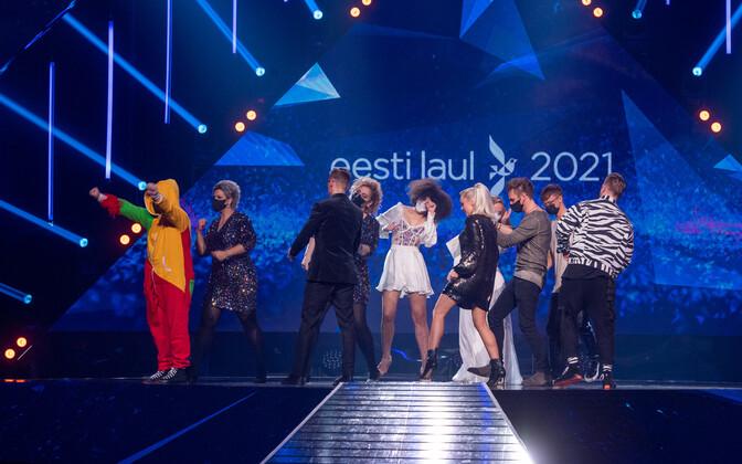 Финалисты Eesti Laul.