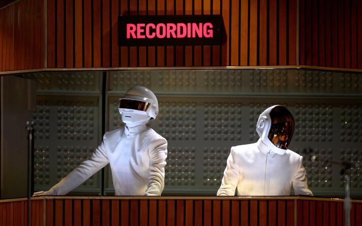 Daft Punk выступали на церемонии вручения