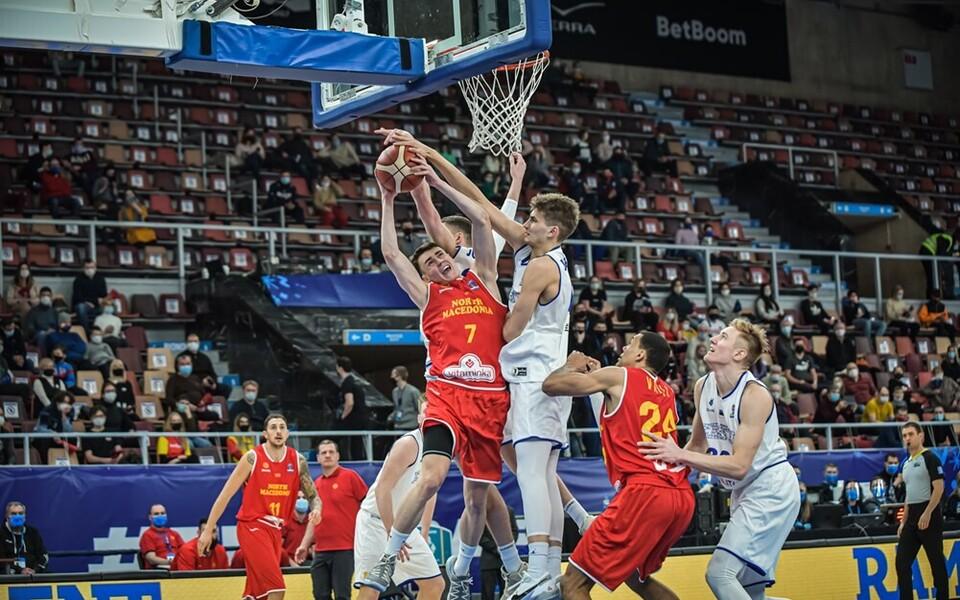 Korvpalli EM-valikmäng: Eesti - Põhja-Makedoonia