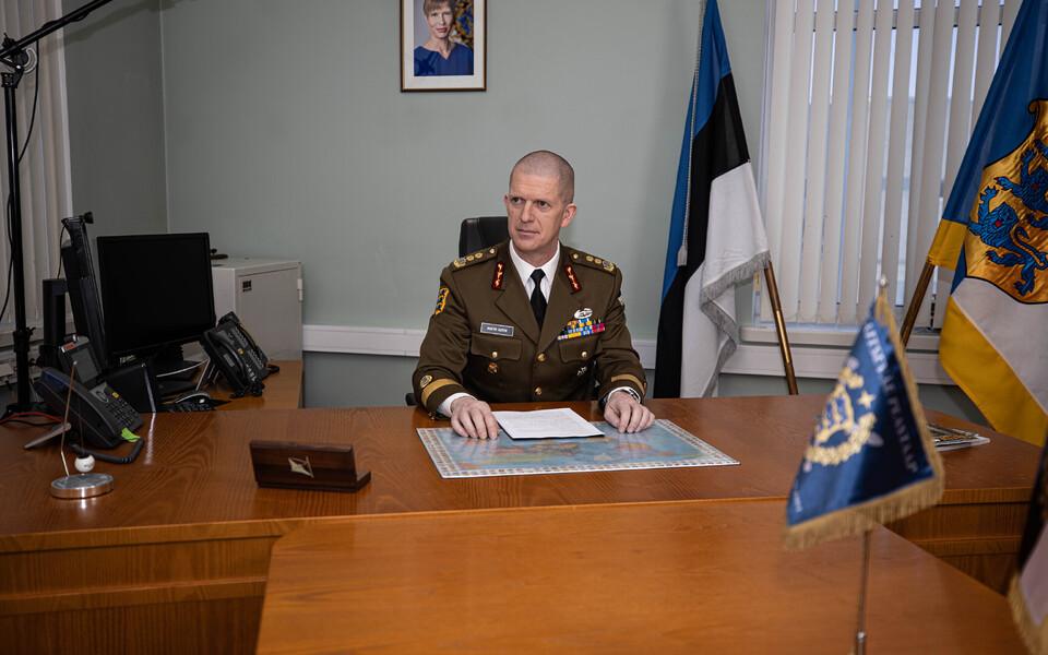 Kaitseväe juhataja kindralleitnant Martin Herem