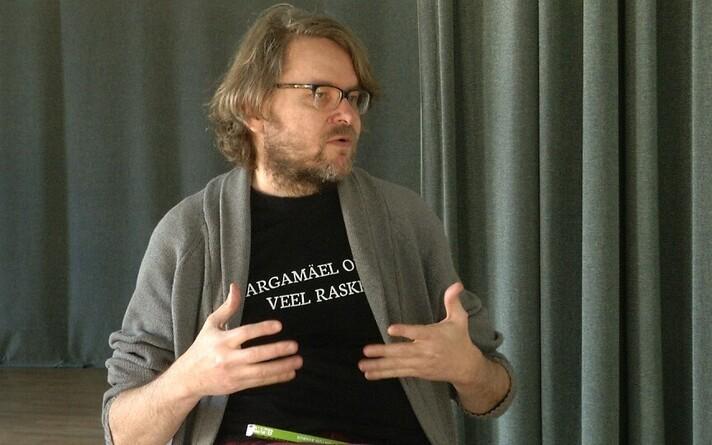Kultuurkapitali kirjanduspreemia nominent Jan Kaus.