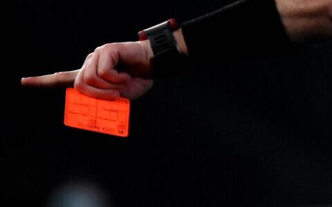 Punane kaart jalgpallis