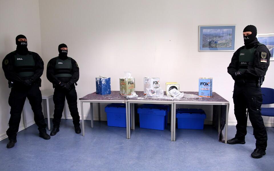 В Европе изъяли рекордное количество кокаина за одну операцию.