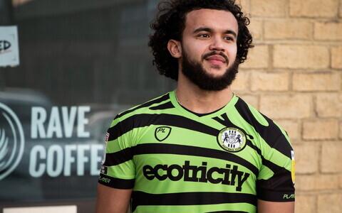 Forest Green Roversi uus mängusärk