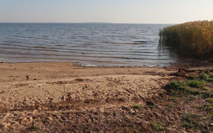 Чудское озеро.