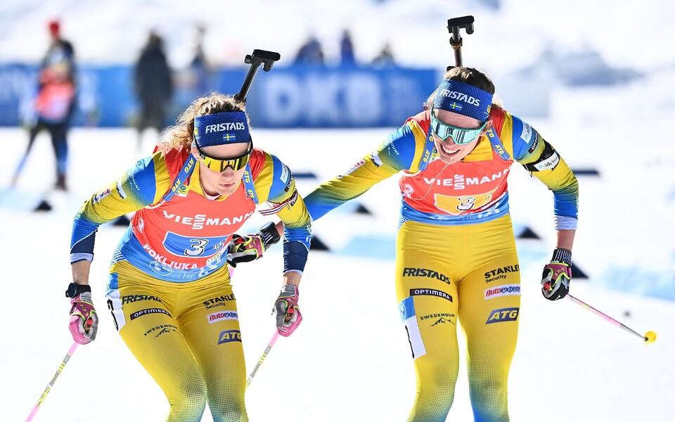 Hanna Öberg ja Elvira Öberg