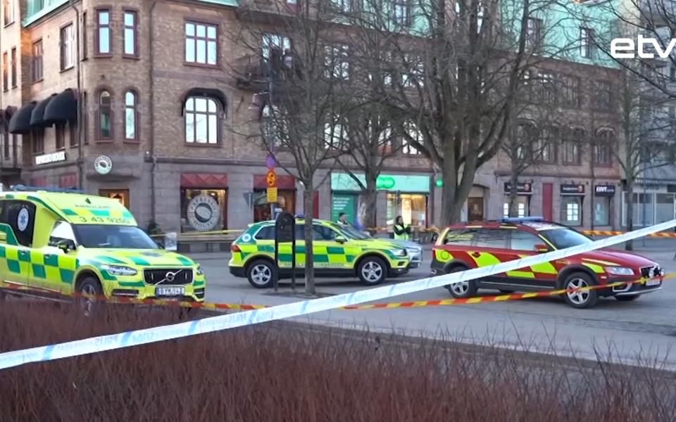 Нападение в Швеции.