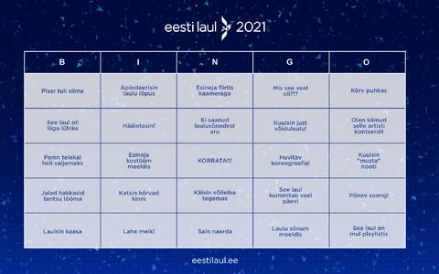 Eesti Laulu bingo
