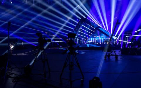 Eesti Laulu finaali proov Saku Suurhallis