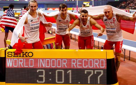 Võidukas Poola teatenelik Birminghami sise-MM-il