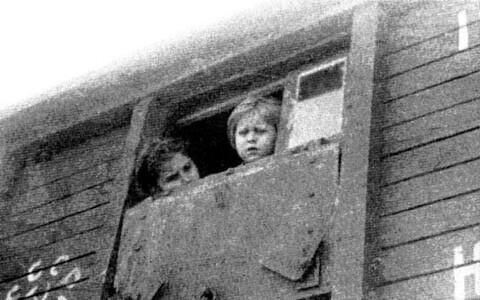 Deportation in 1949.